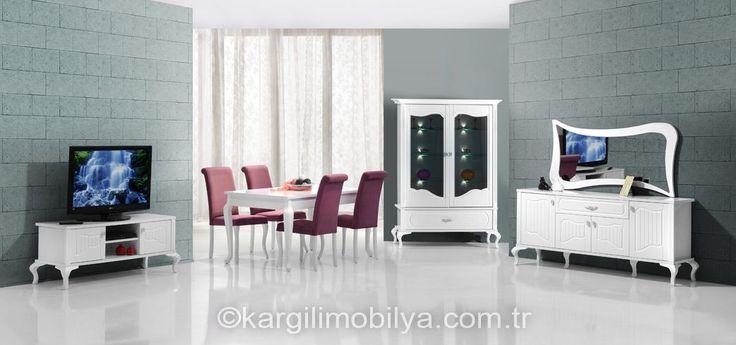Lazzaro Yemek Odası Takımı Kargılıda >> http://www.kargilimobilya.com.tr/Lazzaro-Yemek-Odasi-Takimi… #kargılı #mobilya #yemekodası #takımı