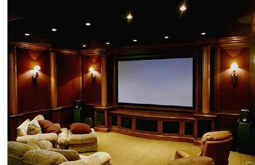 Home Theater Design Dallas Magnificent Decorating Inspiration