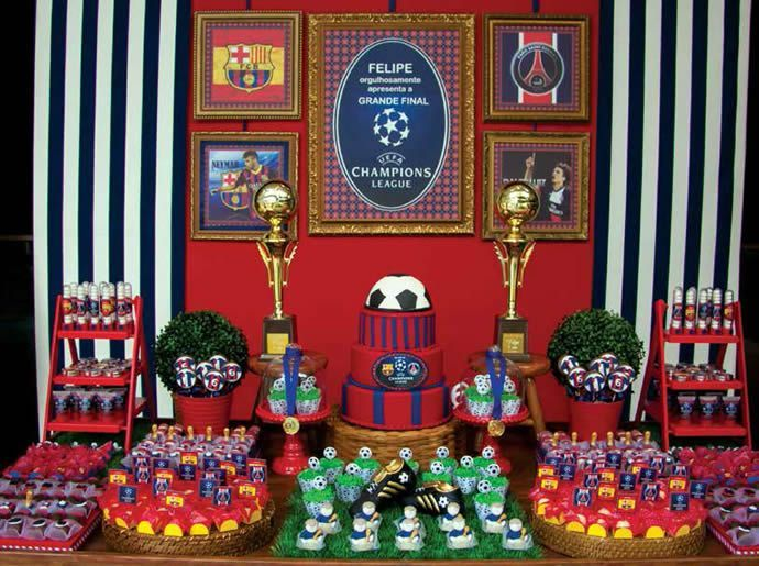 Ideias para festa do barcelona pesquisa google festas - Decoracion infantil barcelona ...