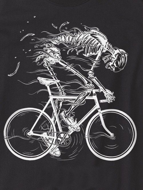 ride like hell t shirt design by howies