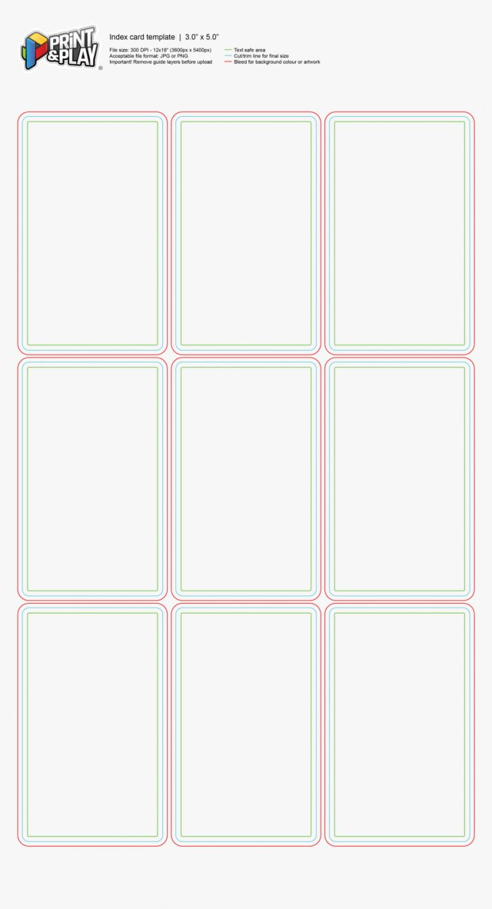 Standard Indecard Index Card Template 3x5 Free Format Google With Regard To Microsoft Word In Note Card Template Free Business Card Templates Business Template