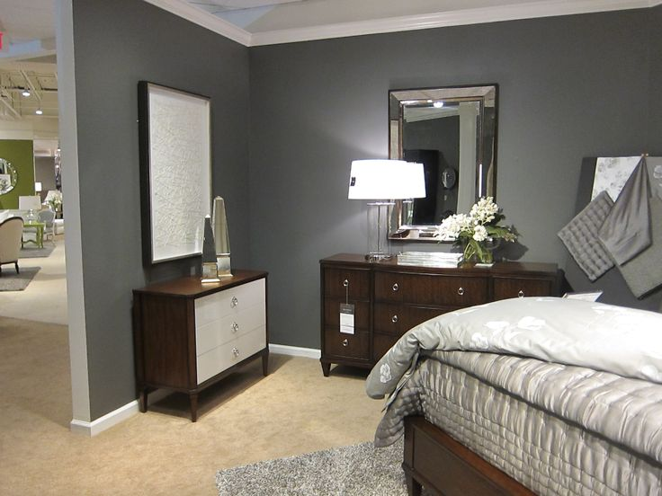 Benjamin Moore Iron Mountain Paint In Our Ethan Allen
