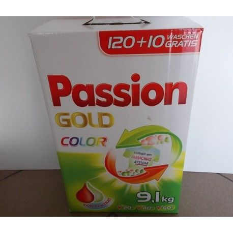 Passion Gold 9,1 kg - Proszek do prania kolorów - Opole