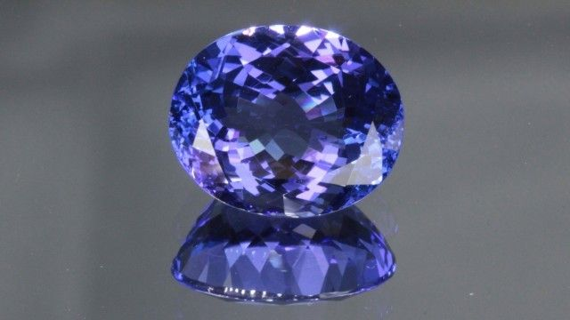 5.22 CT TANZANITE - FLAWLESS! MASTER CUT! WORLD CLASS!  NATURAL TANZANITE GEMSTONE  FROM GEMROCKAUCTIONS.COM
