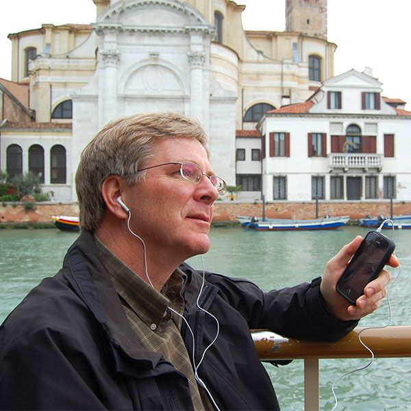 Travel Tip: Rick Steves has a free app with 45 self-guided audio tours to use in Europe. http://fancytemplestore.com