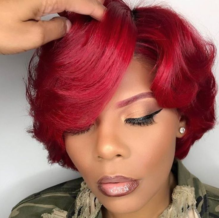 Best 25 red black hair ideas on pinterest burgundy hair ombre this red coloured hair is really fantastic i am deeply impressed urmus Choice Image