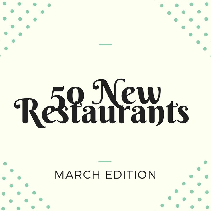 50 New Restaurants in Barcelona - March Edition — BARCELONA FOOD EXPERIENCE