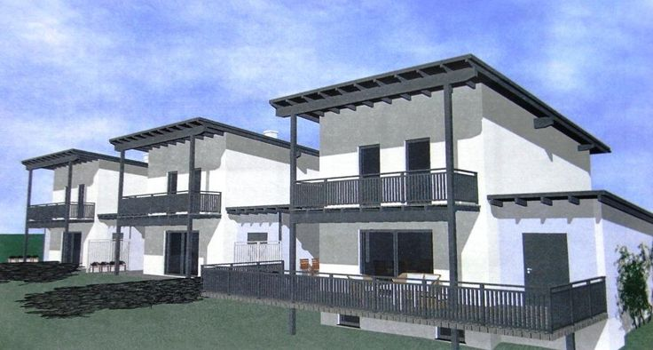 reihenhaus oder doppelhaus mit garage und carport zu einem. Black Bedroom Furniture Sets. Home Design Ideas