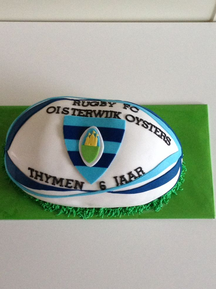 Rugby taart Thymen