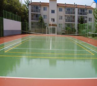 All-weather elastic surfacing (PU resin)