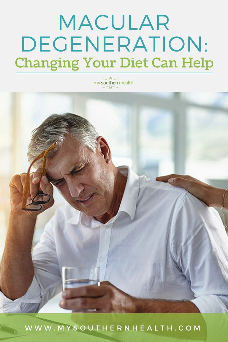 Changing Your Diet Could Prevent Macular Degeneration Macular Degeneration Eye Health Prevention