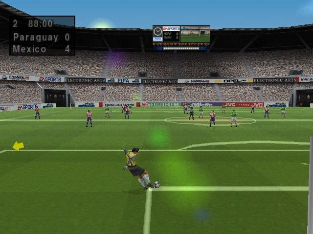 FIFA 1998 PC Game Snapshots