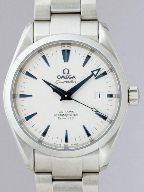 オメガ OMEGA シーマスター 2503.33 コーアクシャル アクアテラ シルバー/青針 製品番号:Omega175 ポイント: 179 P 販売価格: 17900 円 在庫數: 有