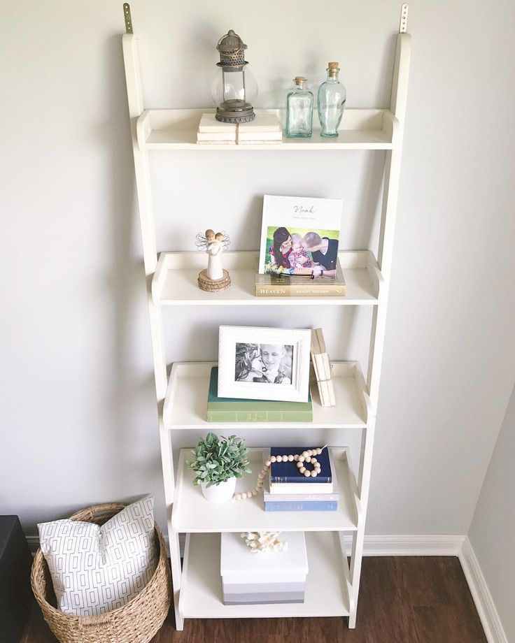 Top 25+ Best Ladder Shelf Decor Ideas On Pinterest