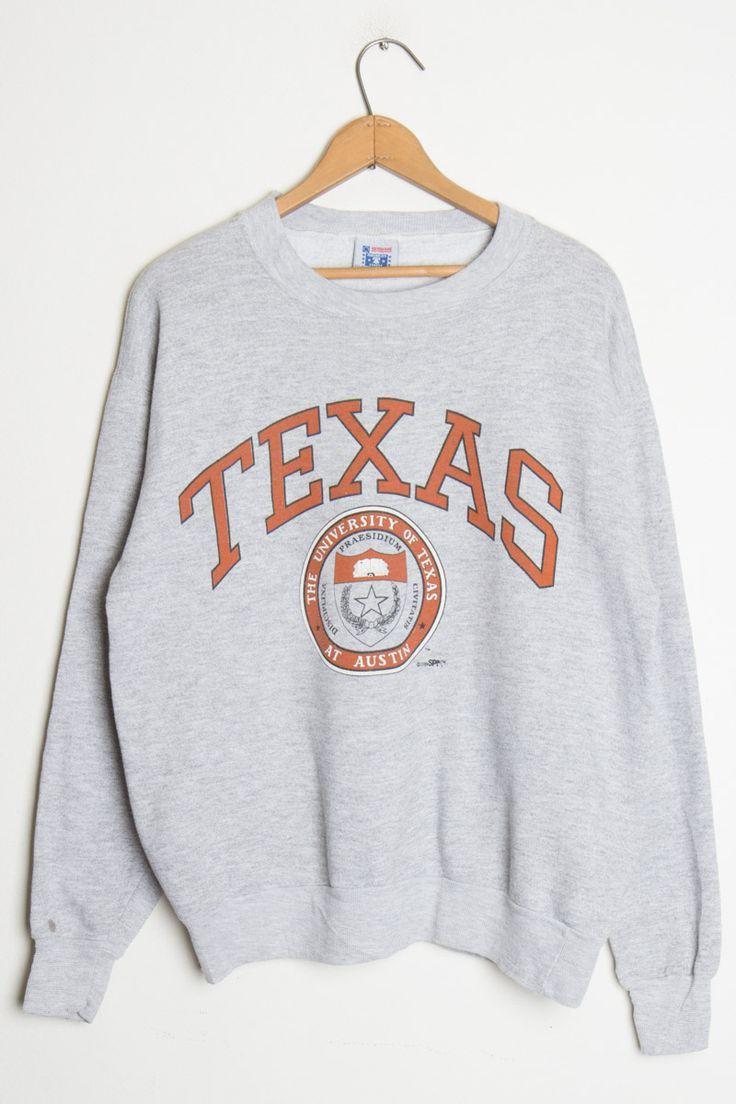 Texas University The Texas At Austin Sweatshirt Sweatshirts College Sweatshirt Outfit University Sweatshirts [ 1104 x 736 Pixel ]