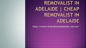 Furniture Removalist in Adelaide  Cheap Removalist in Adelaide