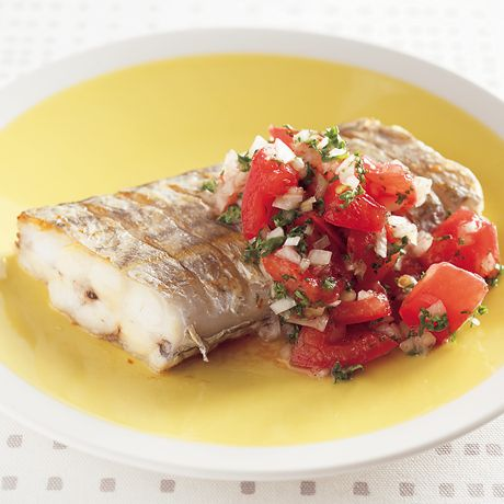 太刀魚のレシピ   料理レシピ検索   レタスクラブニュース たちうおのソテーフレッシュトマトソース