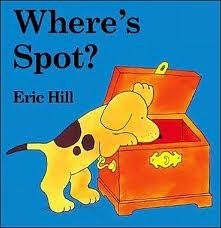 Carrie's Speech Corner: Book of the Week: Where's Spot? Can't believe I didn't think of using this book! I loved it as a kid! Can target positional language, basic concepts, vocab, and artic - it's a win win win!