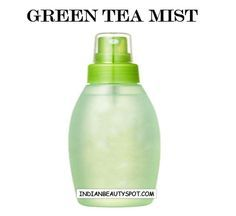 DIY Green Tea Mist - Green tea contains tannin, an astringent that miraculously shrinks skin. Reduces the swelling around your eyes and tightens the skin, making you look and feel fabulous.