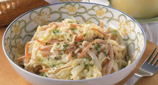 Salade de chou à l'américaineVoir la recette de la Salade de chou à l'américaine >>