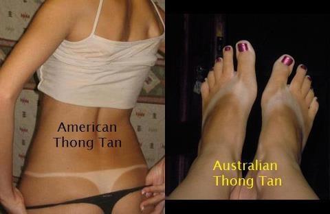 Aussie style tan