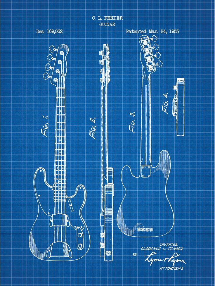 Fender Bass Guitar - C.L. Fender - 1953