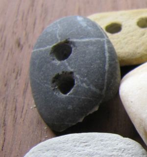How to turn stones into buttons