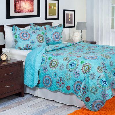 Lavish Home Serena Quilt Set & Reviews | Wayfair