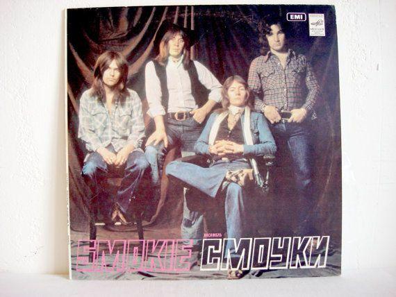 Smokie Chris Norman 1977  Vinyl Record Album  от OldMoscowGallery