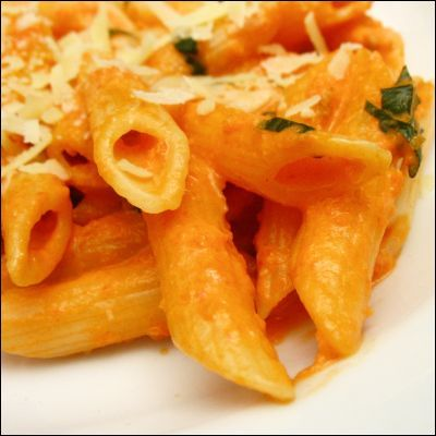 My new favorite vodka sauce recipe...well more I used this as my base, fantastic recipe though!