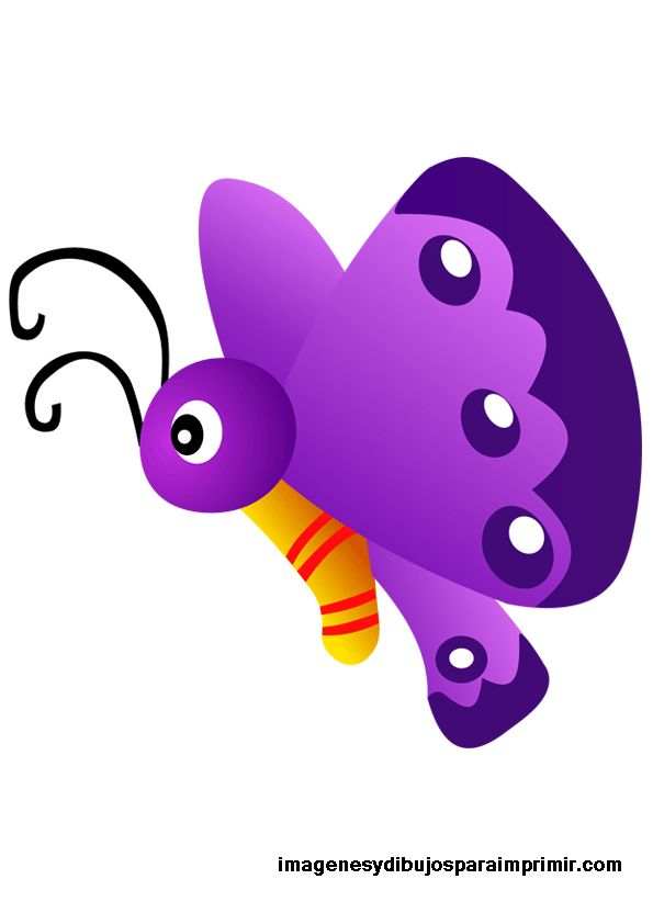 Mariposa para imprimir , muchas imagenes de dibujos de Mariposas para imprimir , puedes usarlo para hacer laminas para que aprendan a conta...