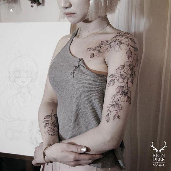 25 Best Woman Arm Tattoos Trending Ideas On Pinterest: 25+ Best Ideas About Shoulder Tattoos For Women On