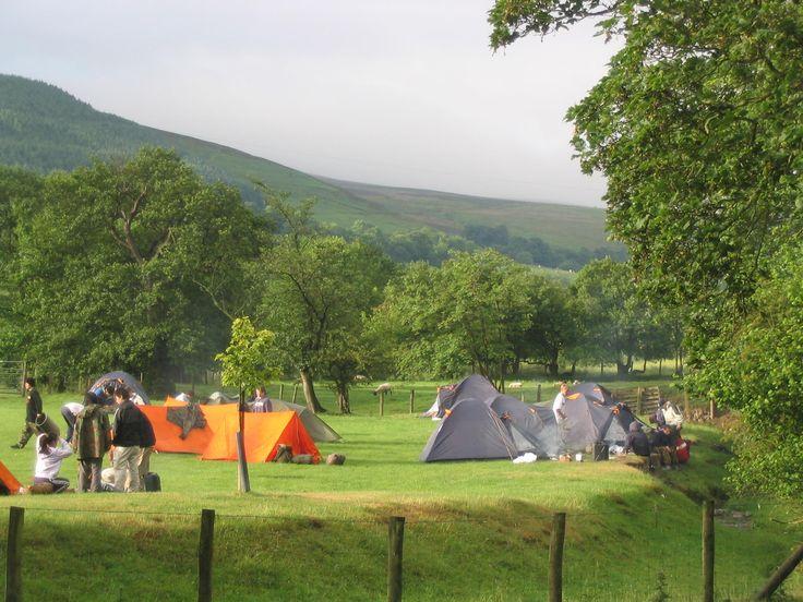 Llyn Rhys Campsite,  Llandegla, Wrexham, Denbighshire, Wales. Walks. Cyclist. Mountain Biking. Holiday. Travel. Camping. Outdoors.