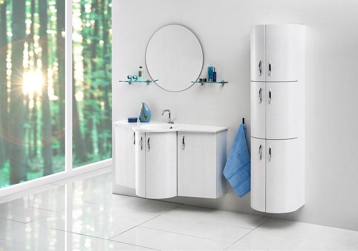 Gaia bathroom furniture / łazienka #bathroom #furniture