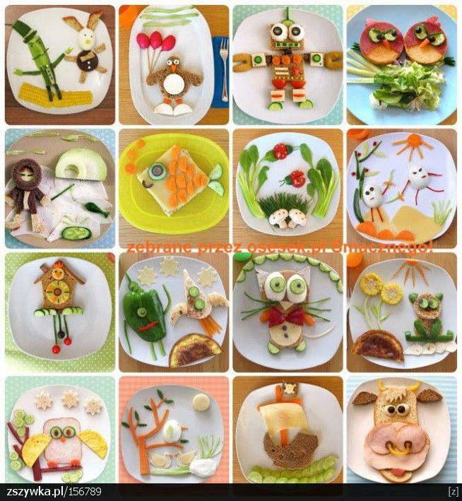 Fun food for kids.  Food art!