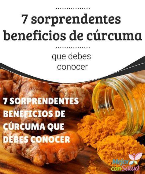 7 sorprendentes beneficios de cúrcuma que debes conocer  La cúrcuma es una especia hindú que se ha utilizado desde la antigüedad como ingrediente para la gastronomía y la medicina alternativa.
