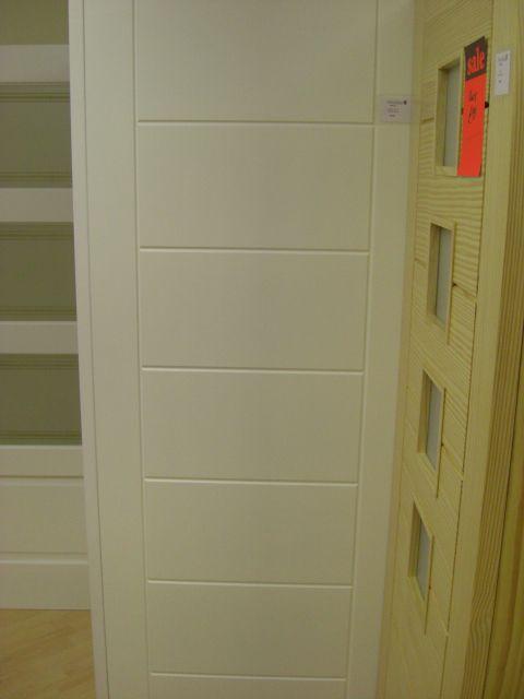 Internal Door White Primed Palermo