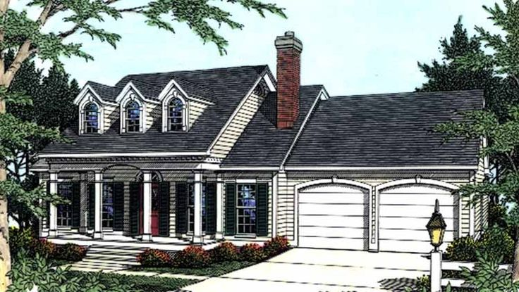 Eplans Adam Federal House Plan Dine With Ease And