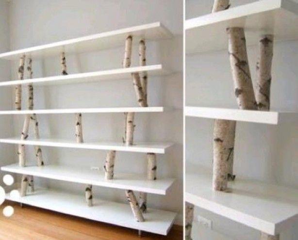 Leuke en originele manier om een boekenkast te maken!