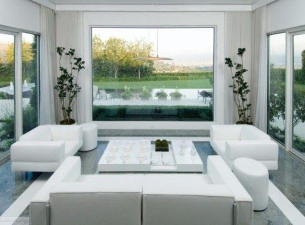 little white living room images