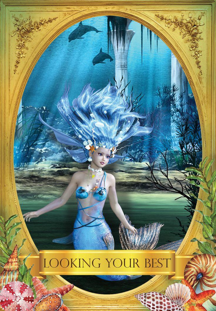 Looking your best oracle cards mermaid oracle