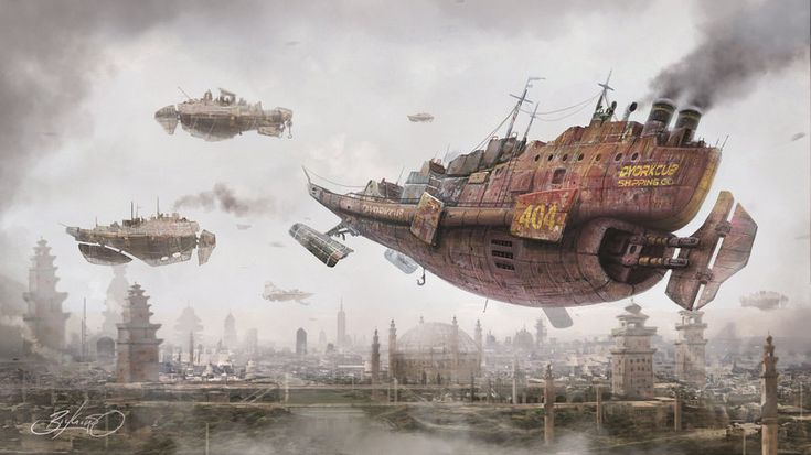Return to Steam City by Simon Buckroyd by Binoched.deviantart.com on @DeviantArt
