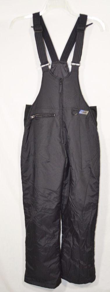 SKIGEAR SKI GEAR Women's Black Ski Snow Pants Bibs Medium Adjustable Straps #SkiGear #SnowsuitsBibs