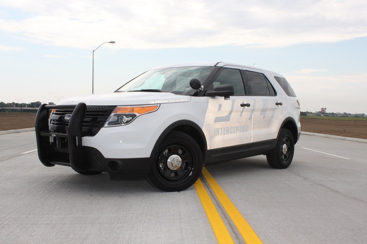 2013 Ford Police Interceptor SUV with ghost graphics ...