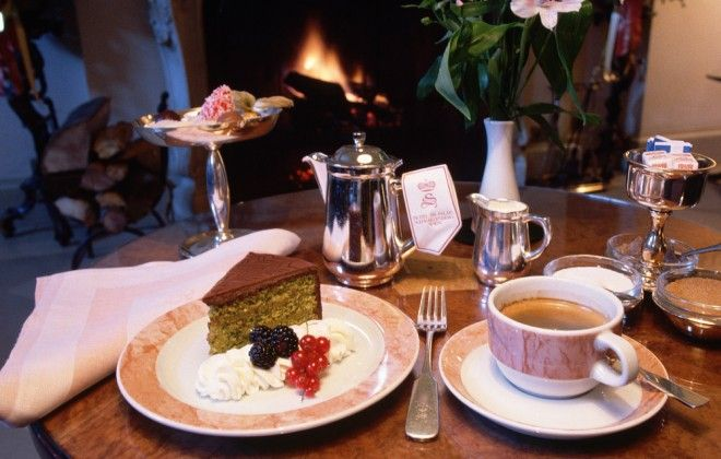 """Kaffee and kuchen in a Viennese kaffeehaus, Austria. """"As refined as afternoon tea and as sacred as the Japanese tea ceremony, Kaffee und Kuchen – coffee and cake – is the most civilized of Viennese rituals."""""""