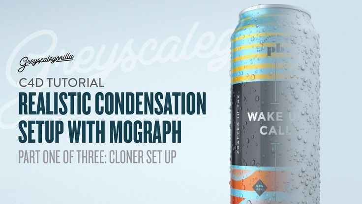 Part One of Three: Learn how to create realistic condensation on a tallboy beer can using Mograph ***** New To Cinema 4D? Join our Intro To Cinema 4D Series ...