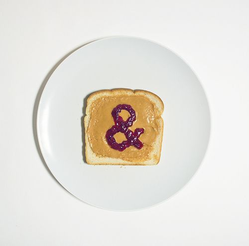 RW Awesomeness of the Day:  Look what Mari found: Peanut Butter & Jelly (by David Schwen)