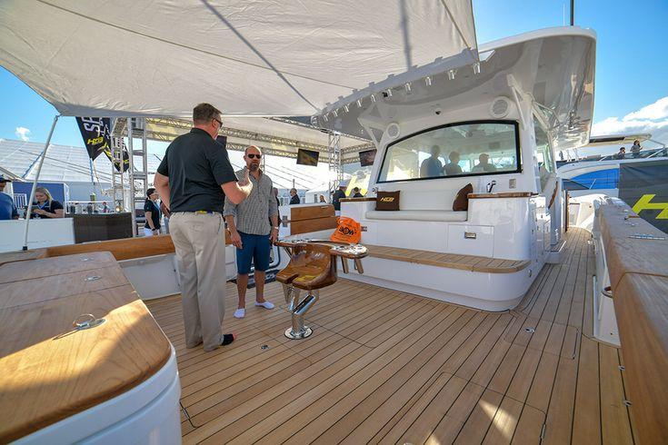 The HCB Yachts Estrella 65 Foot Center Console Boat