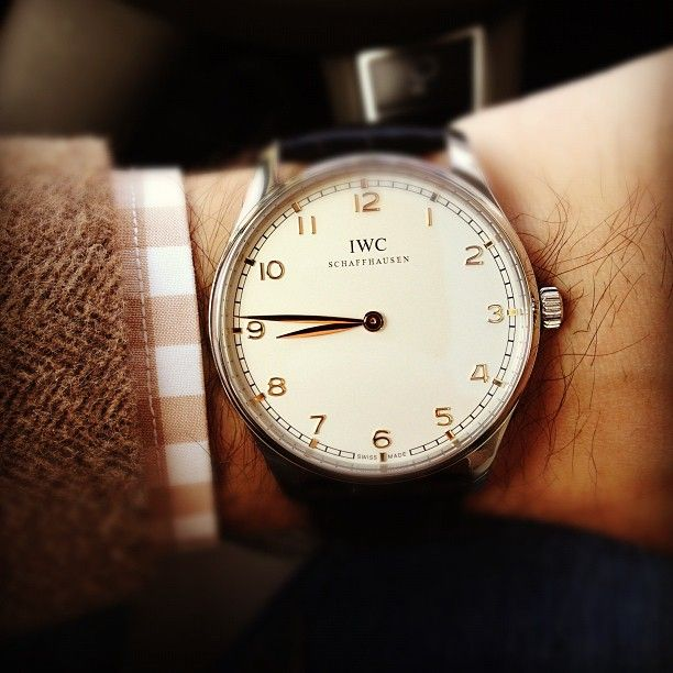 hodinkee:  The Portuguese Pure Classic (look it up) from @IWC Watches @Independent World is on my wrist this Friday.