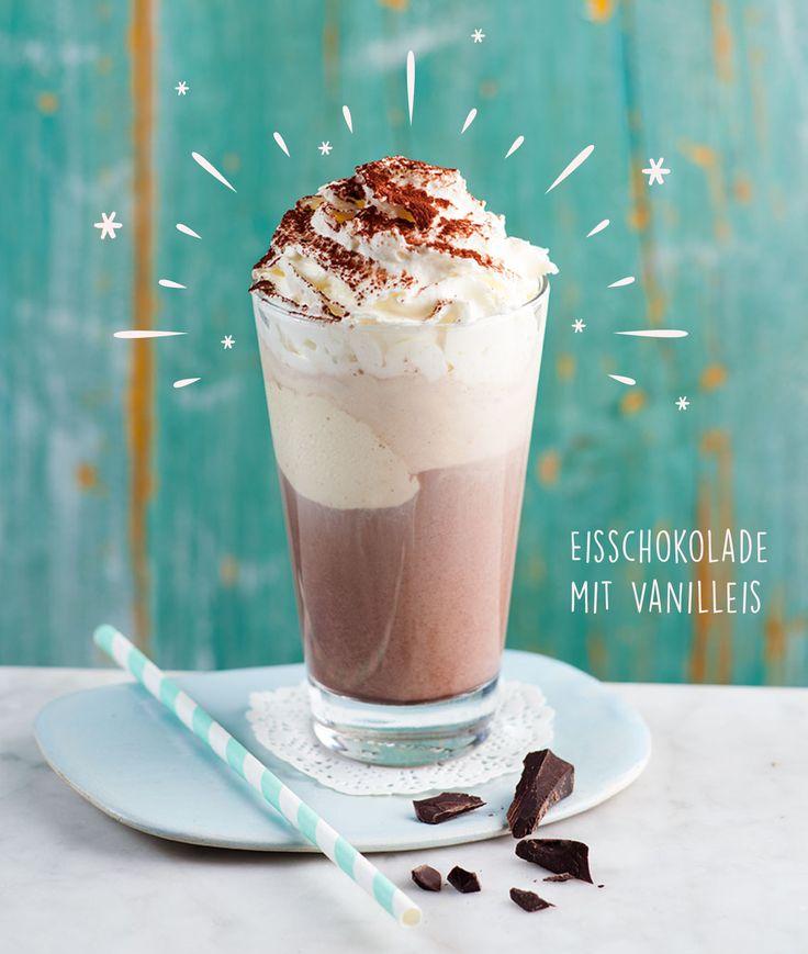 ☀☀☀Zum schönen Wetter genau das Richtige☀☀☀Statt Kaffee mal eine cremige Eisschokolade mit Vanilleeis☀☀☀ #balzaccoffee #eisschokolade #sommer #sonne